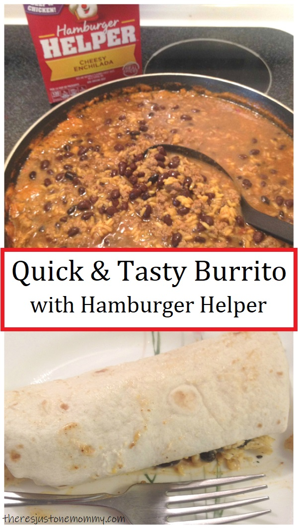cheesy enchilada Hamburger Helper recipe