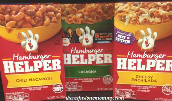review of Hamburger Helper meals
