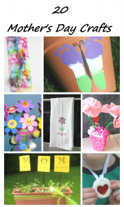 20 Mother's Day Crafts