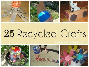recycled crafts for kids: kids crafts made with recyclables