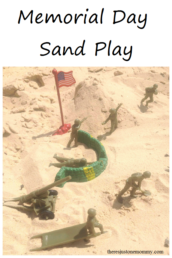 Memorial Day sand play