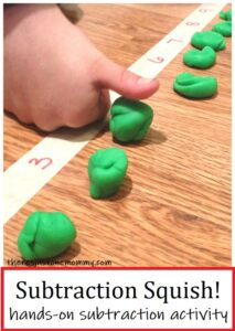 hands on activity to teach subtraction