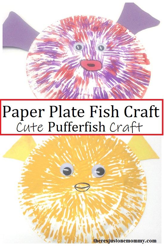 pufferfish sea animal craft