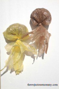 plastic bag jellyfish
