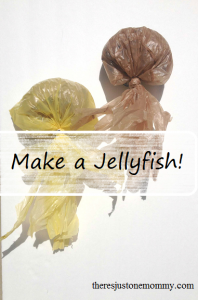 Super simple jellyfish craft -- great for party decorations!