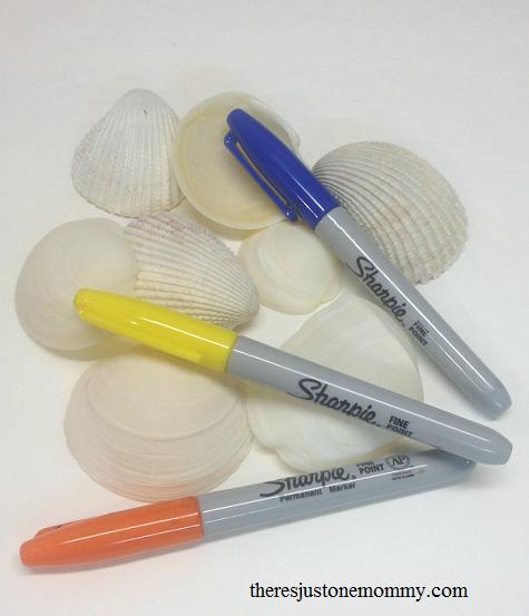 easy shell craft idea