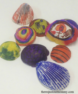 fun shell craft for kids