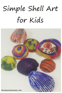 Simple Shell Art for Kids