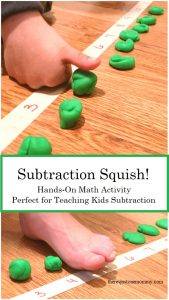 active learning activity for subtraction