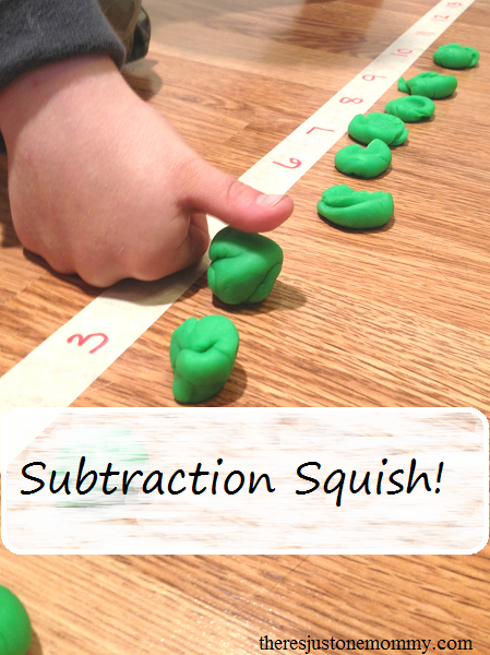 subtraction math game -- simple way to teach subtraction