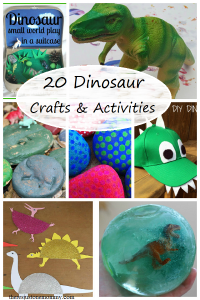 20 Dinosaur Crafts & Activities
