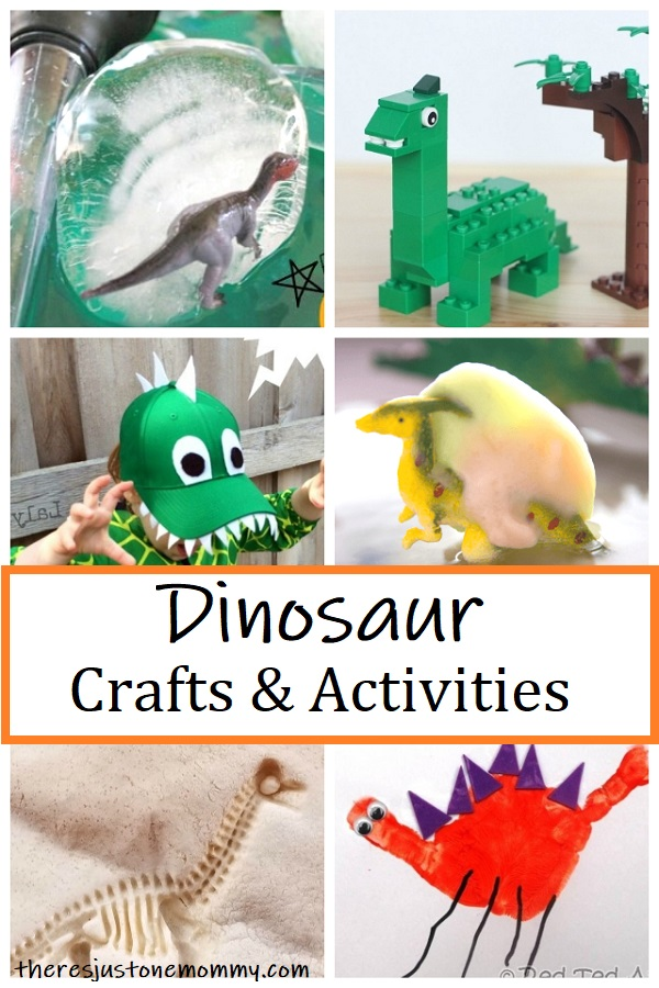 fun dinosaur crafts & activities for kids