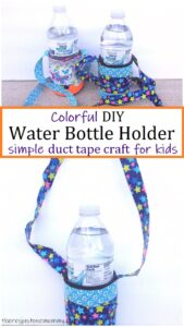 how to make a water bottle holder with duct tape