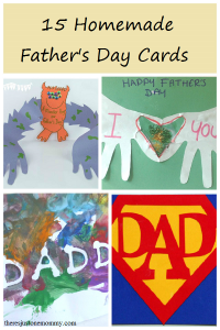 15 fun ideas for homemade Father's Day cards