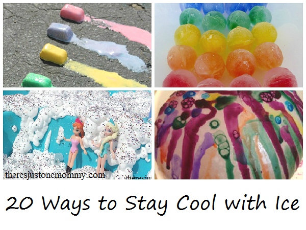 20 ways for kids to play with ice