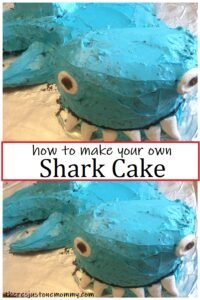 how to make a shark shaped cake