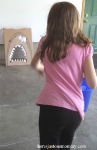 """Feed the Shark"" party game"