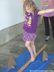 shark party game: walk the plank