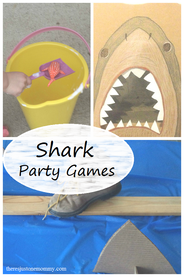 Shark Party Games — Perfect for Shark Week or a Shark-Themed Birthday Party