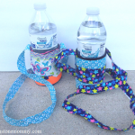 camping craft: how to make a duct tape water bottle holder