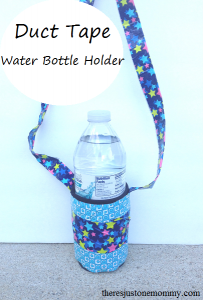 Duct Tape Water Bottle Holder