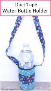 duct tape water bottle holder