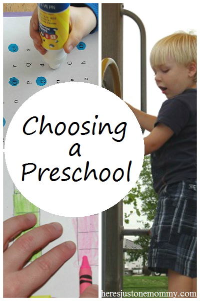 top questions to ask when choosing a preschool