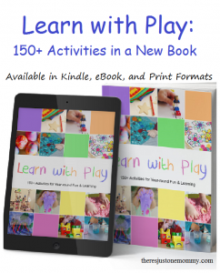 Learn with Play: book full of preschooler crafts and activities