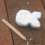 Ivory soap carving craft for kids
