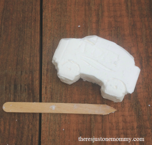 camp craft: soap carving -- perfect camping craft