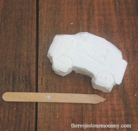 soap carving -- perfect camping craft