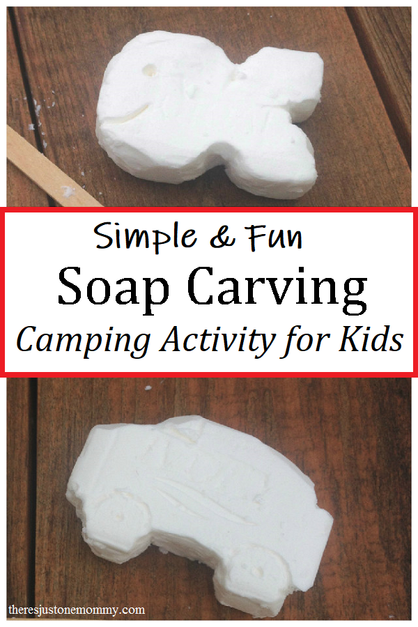 soap carving camp craft