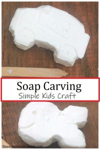 how to do soap carving