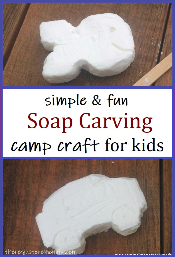 simple soap carving activity for kids