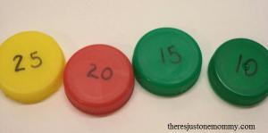 DIY skip counting game