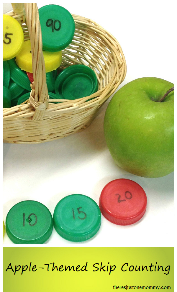 Apple-Themed Skip Counting Practice