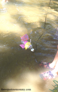 STEM activity -- designing boats that float