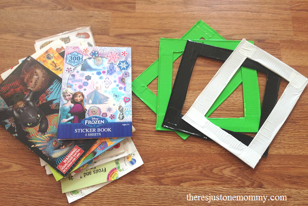duct tape craft: make a duct tape picture frame
