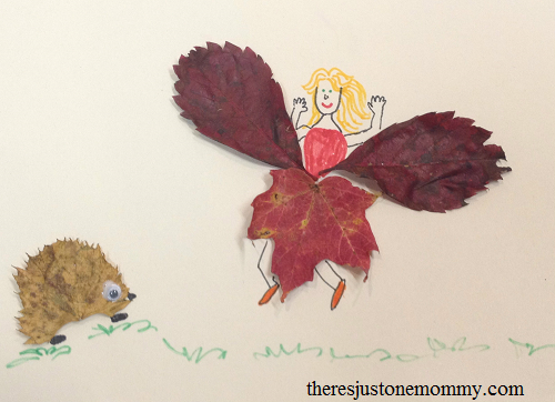 leaf creatures fall leaf craft