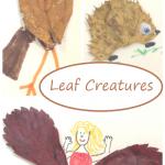 Leaf Creatures: A Fun Fall Leaf Craft