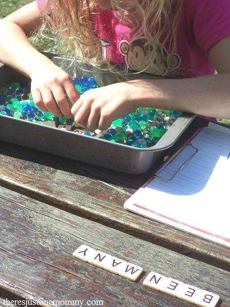 making spelling word practice fun
