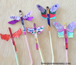 easy craft stick fairy craft
