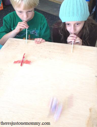 craft stick fairy race -- fun fairy activity for kids