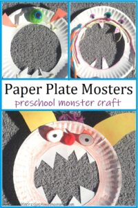 simple preschool monster craft