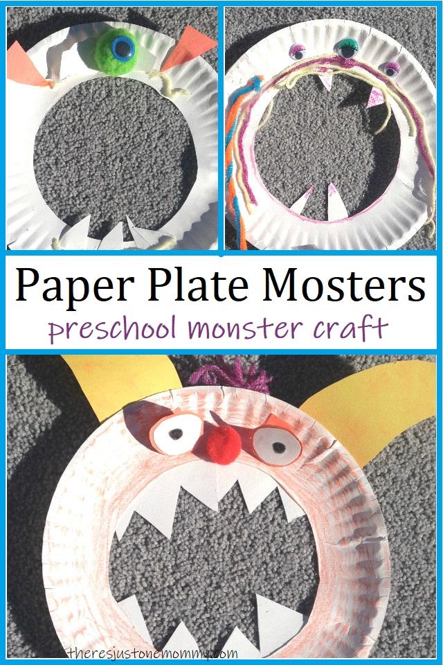 simple preschool monster craft
