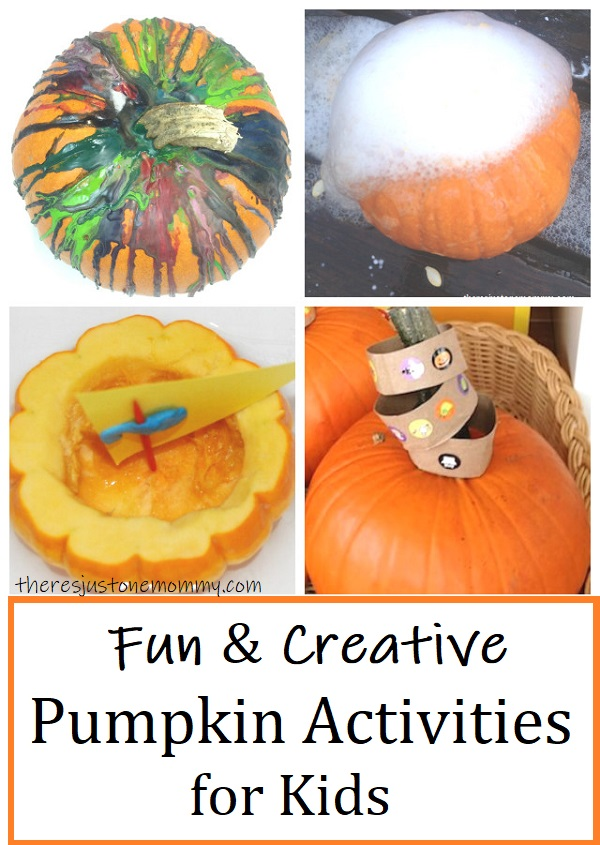 kids activities with pumpkins