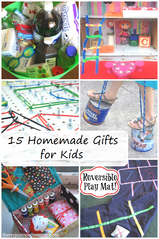 15 fun homemade gifts for kids