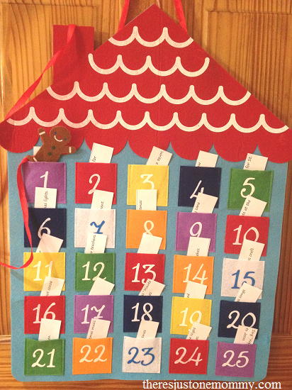 simple Advent calendar ideas