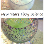 New Years activity for kids: fizzy science