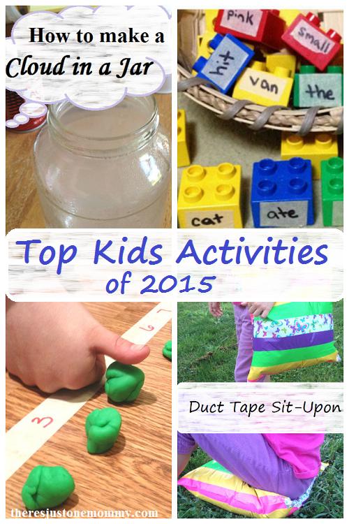 top kids activities of 2015